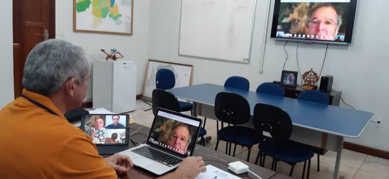 Covid-19: Ministro Paulo Guedes concorda com prefeito de Santarém sobre repasse direto aos municípios e custo extra da Amazônia