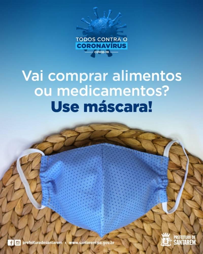 Uso de máscaras será obrigatório em Santarém a partir desta segunda-feira