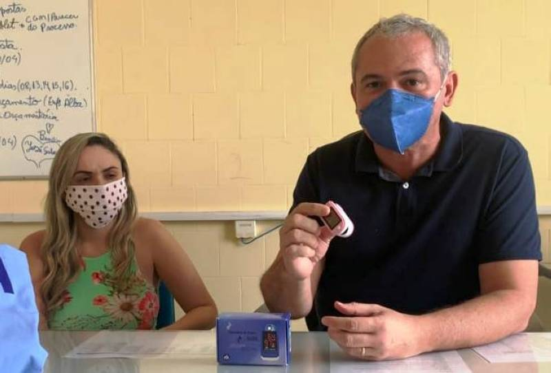 Prefeitura usará oxímetros em pacientes monitorados suspeitos de Covid-19