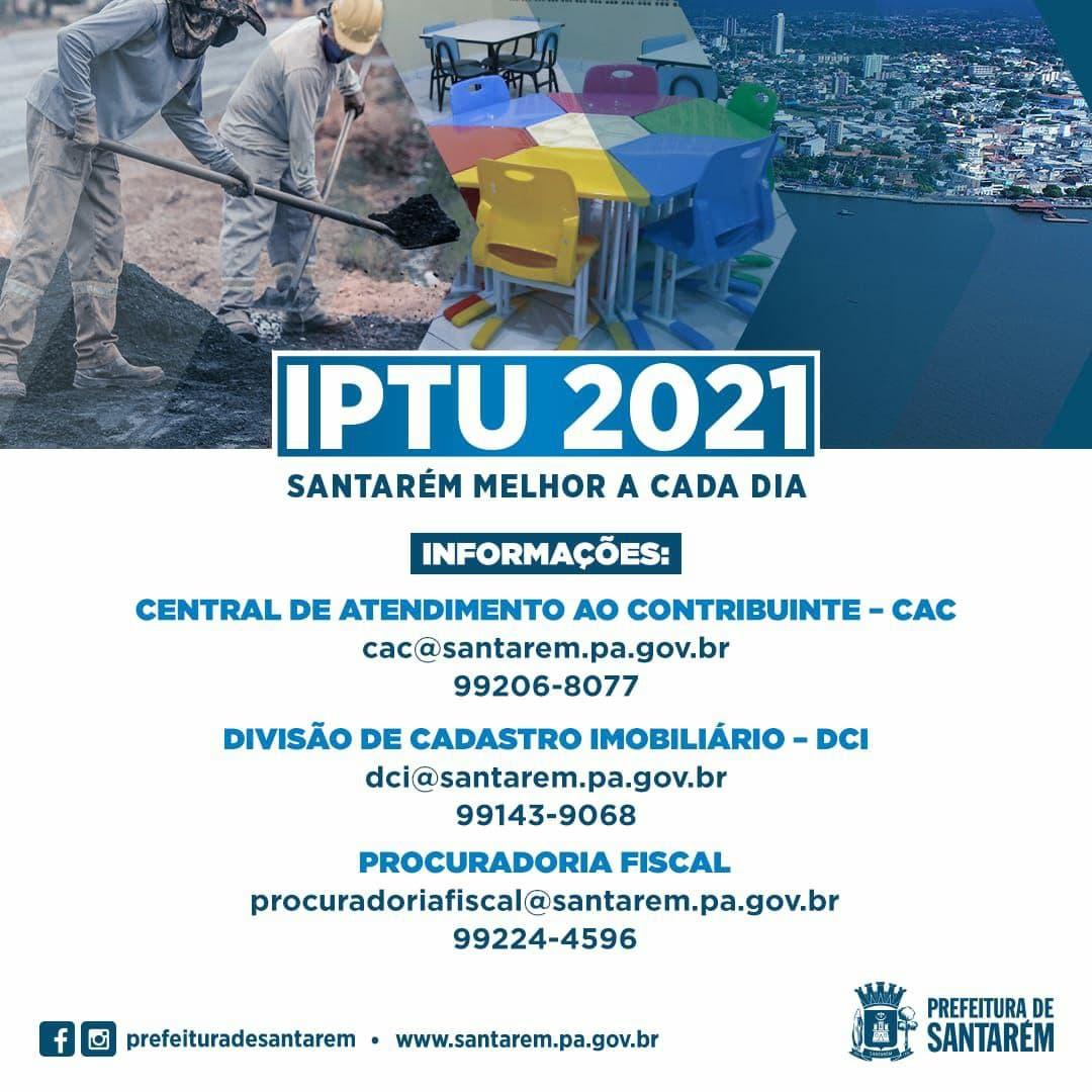 IPTU 2021: pagamento da primeira cota única encerra nesta quinta-feira, 15 de abril.