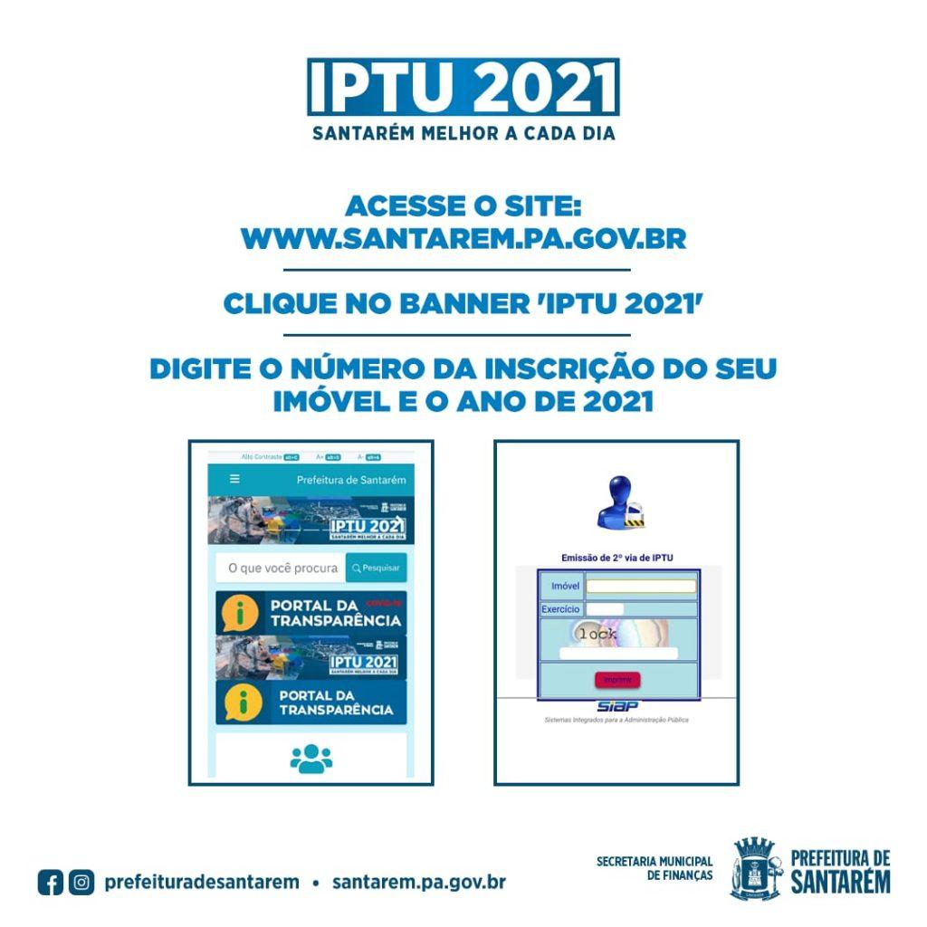 IPTU Continua de forma facilitada ao contribuinte de Santarém